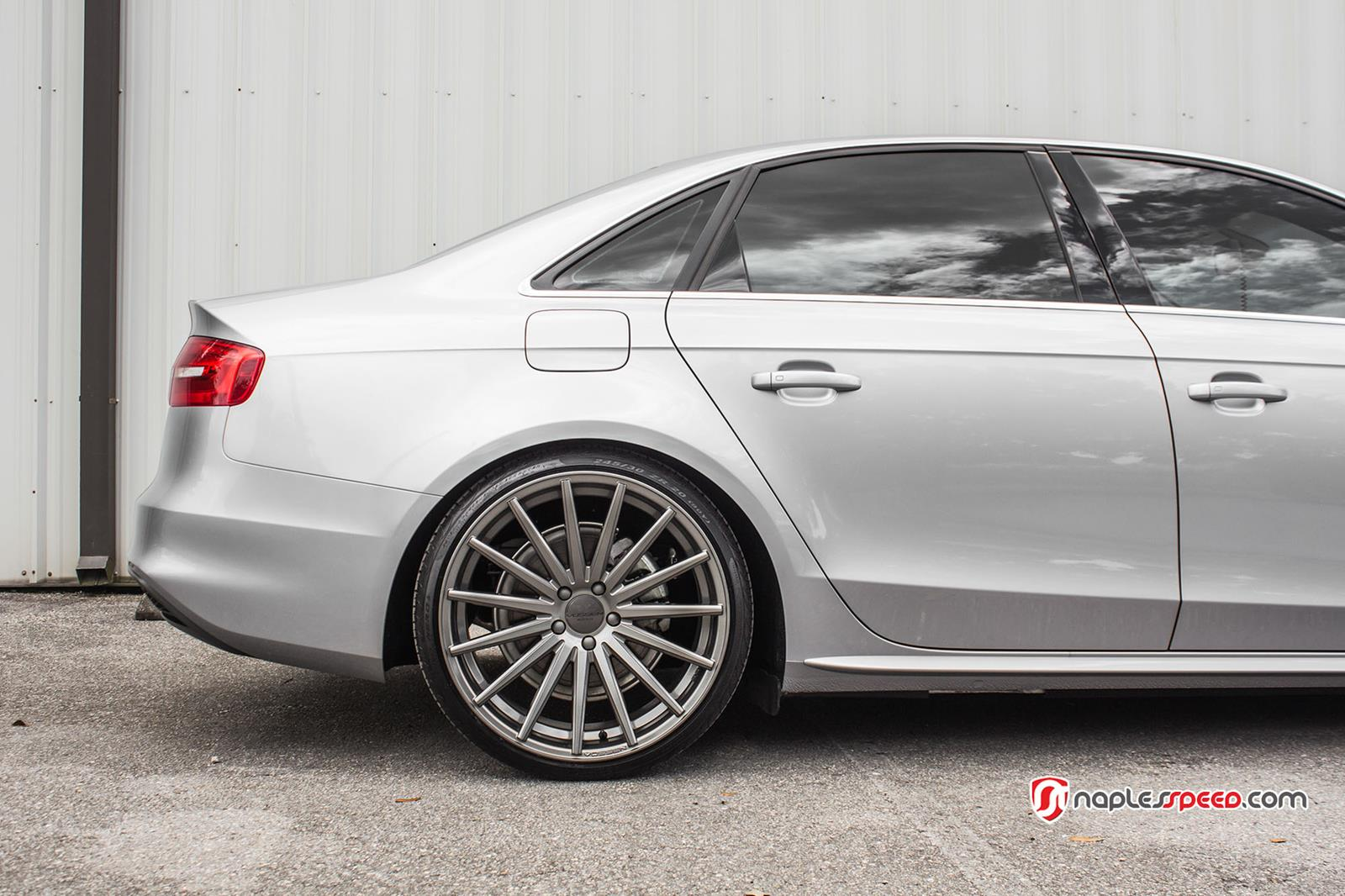 Audi A4 S4 Rs4 Vossen Flow Formed Series Vfs 2