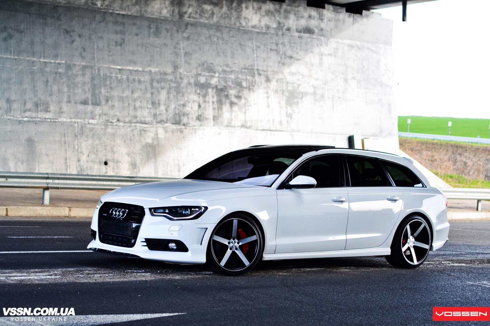 Audi A6 Vossen Cv3r Vossen Wheels