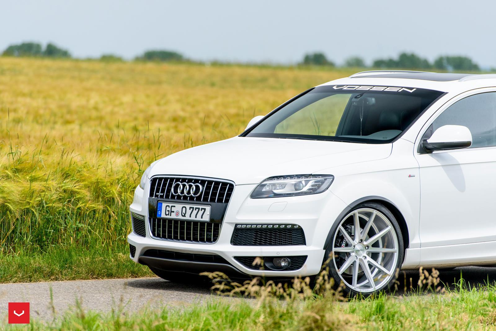 Audi Q7 Vossen Flow Formed Series Vfs1 Vossen Wheels