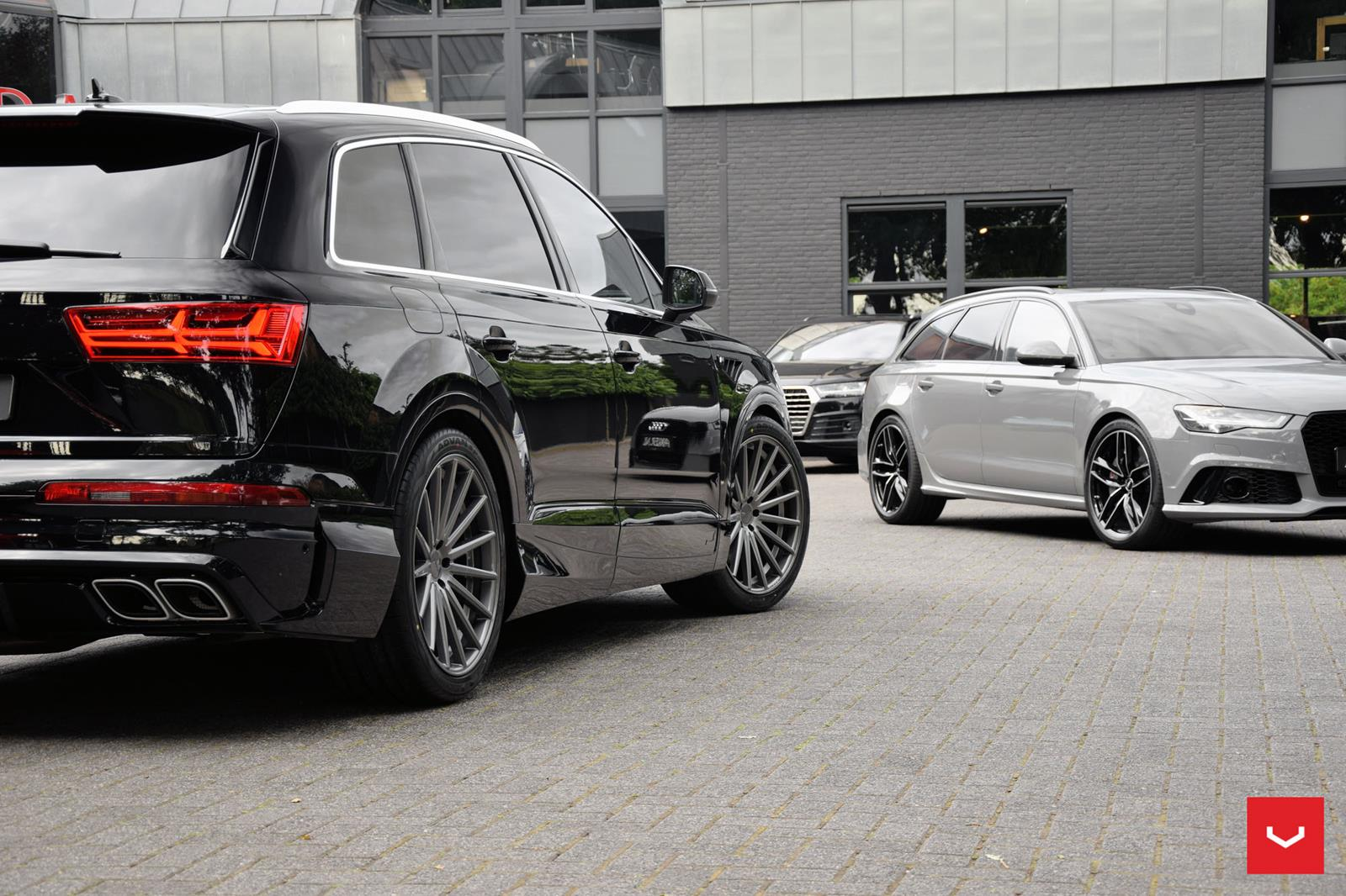 Audi Q7 Vossen Flow Formed Series Vfs2 Vossen Wheels