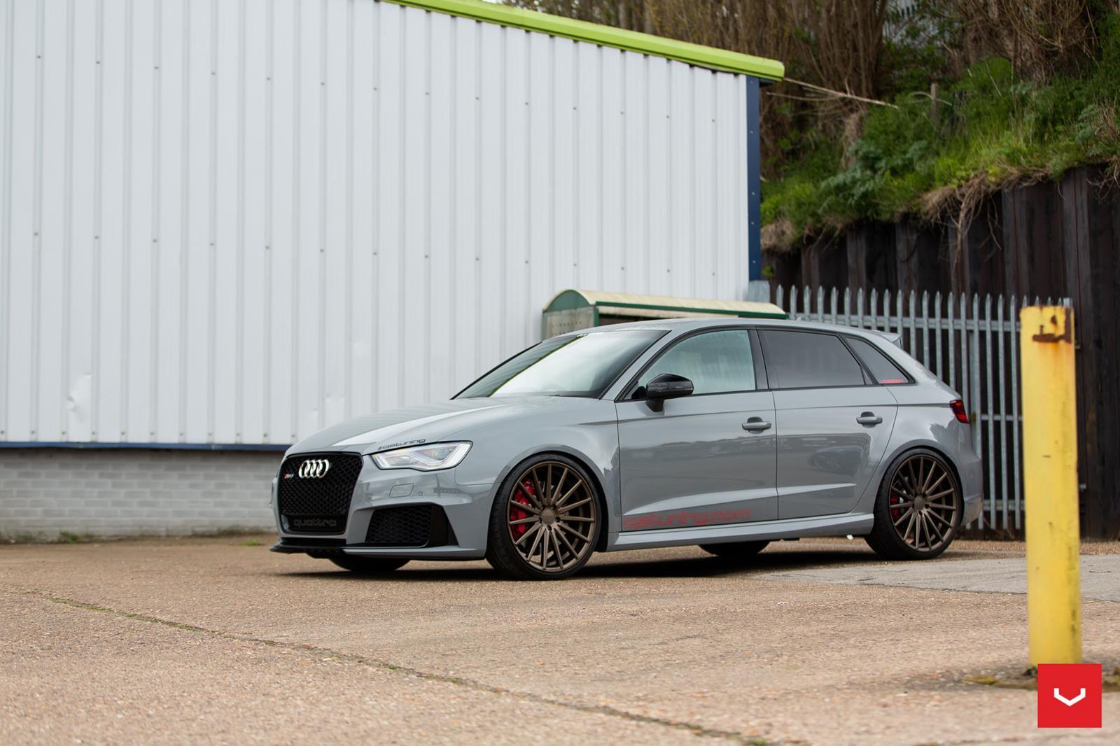 Audi Rs3 Vossen Flow Formed Series Vfs2 Vossen Wheels