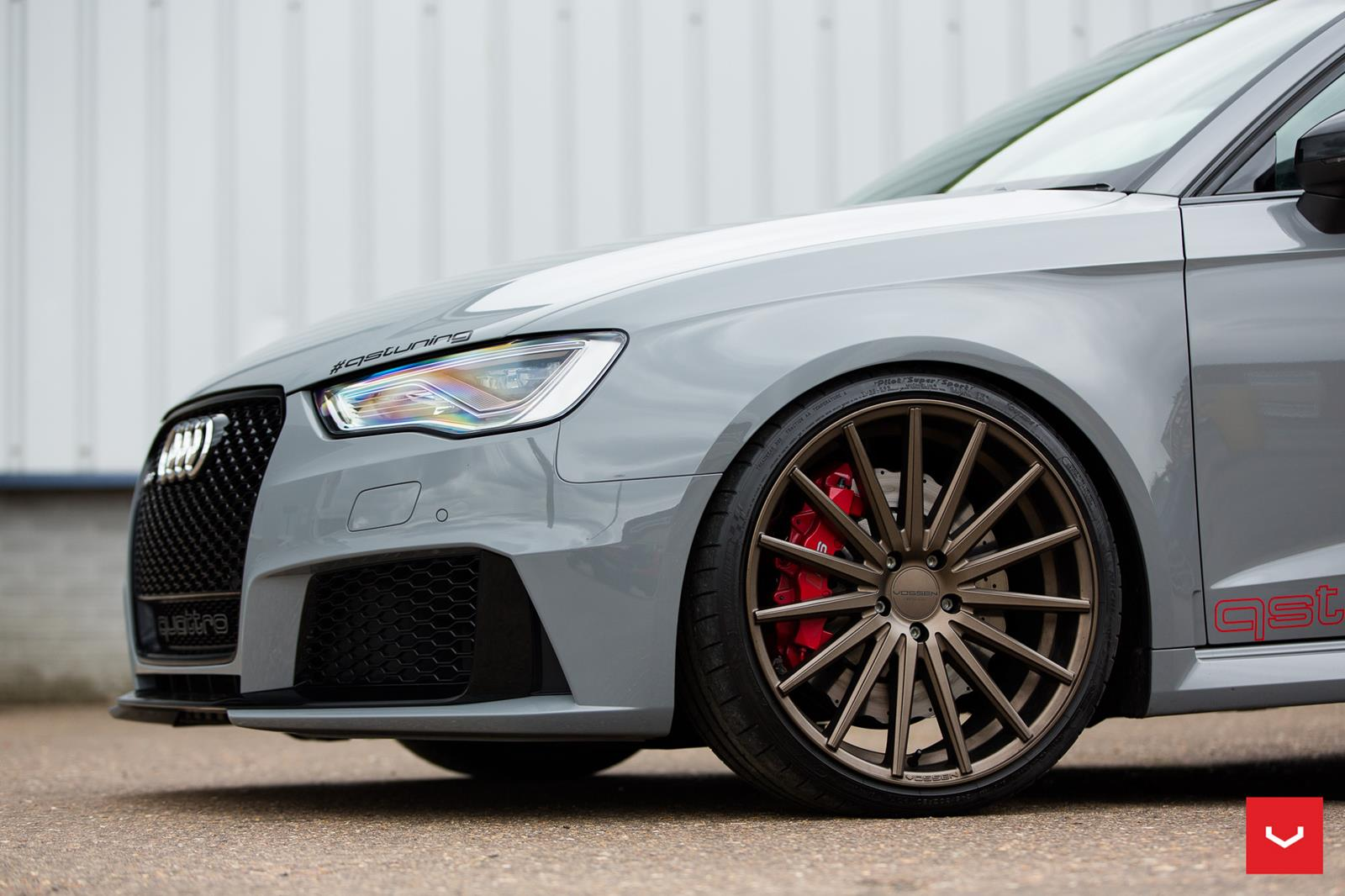 Audi Rs3 Vossen Flow Formed Series Vfs2 Vossen Wheels