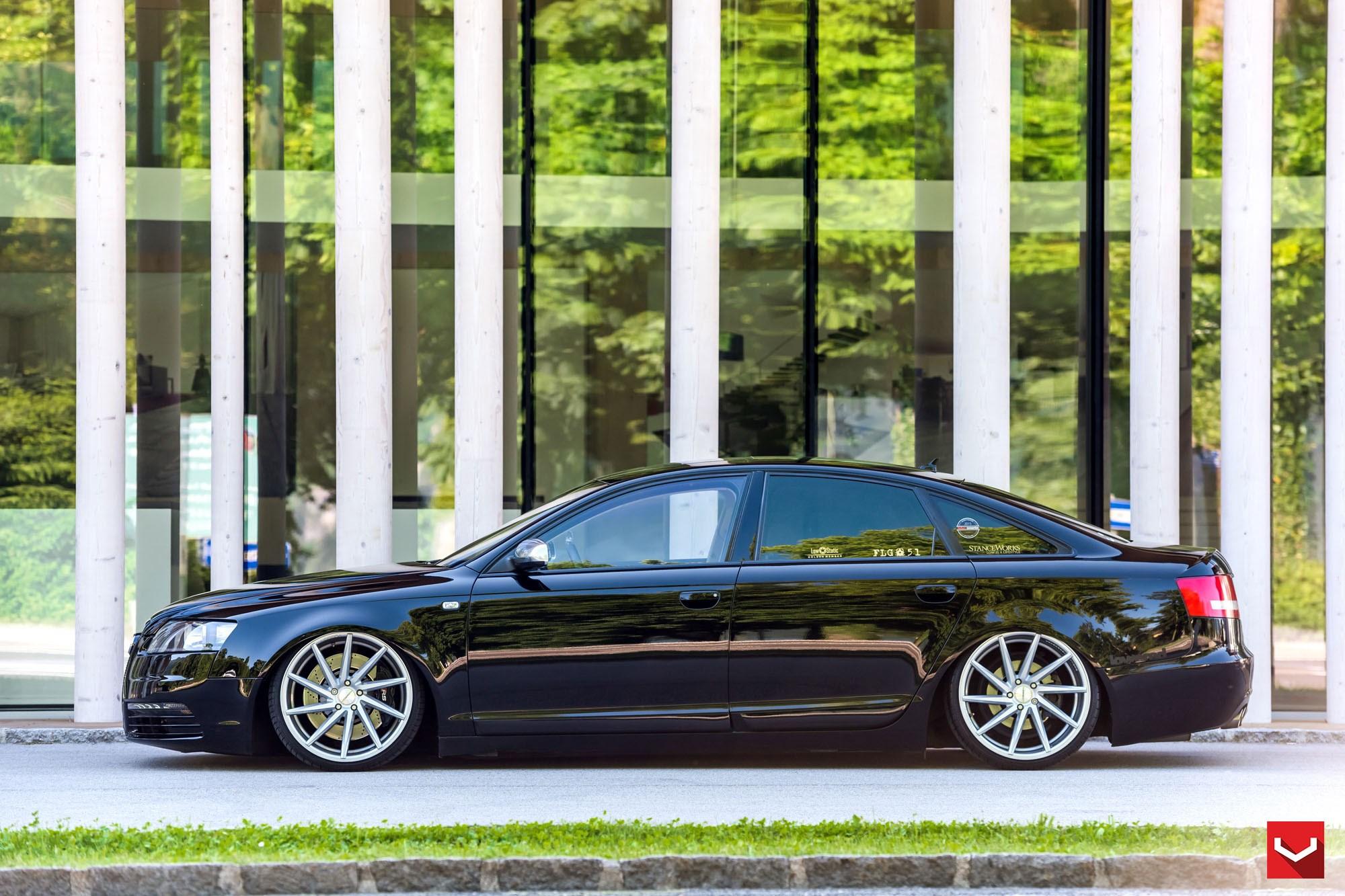 Audi A6 Vossen Cvt Vossen Wheels