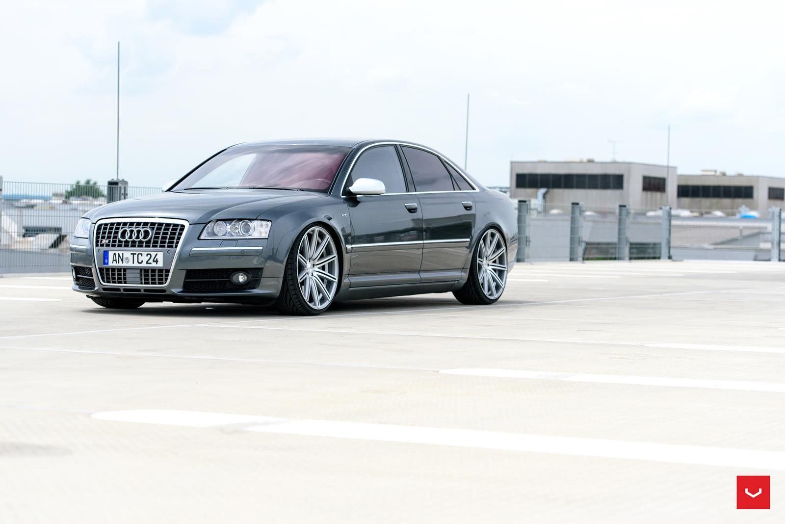 Audi S8 Vossen Cv4 Vossen Wheels
