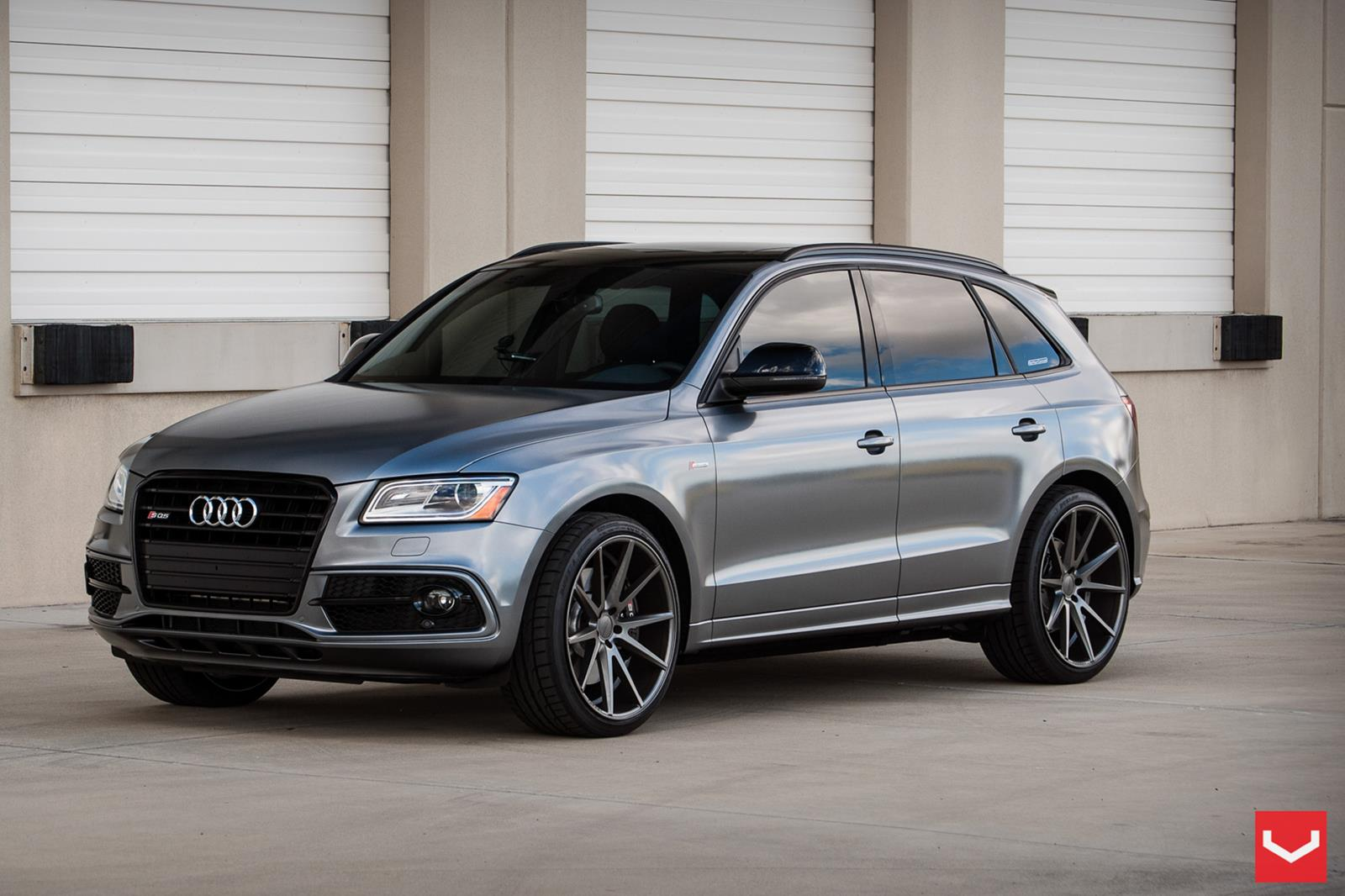 audi sq5 vossen flow formed series vfs 1 vossen wheels. Black Bedroom Furniture Sets. Home Design Ideas