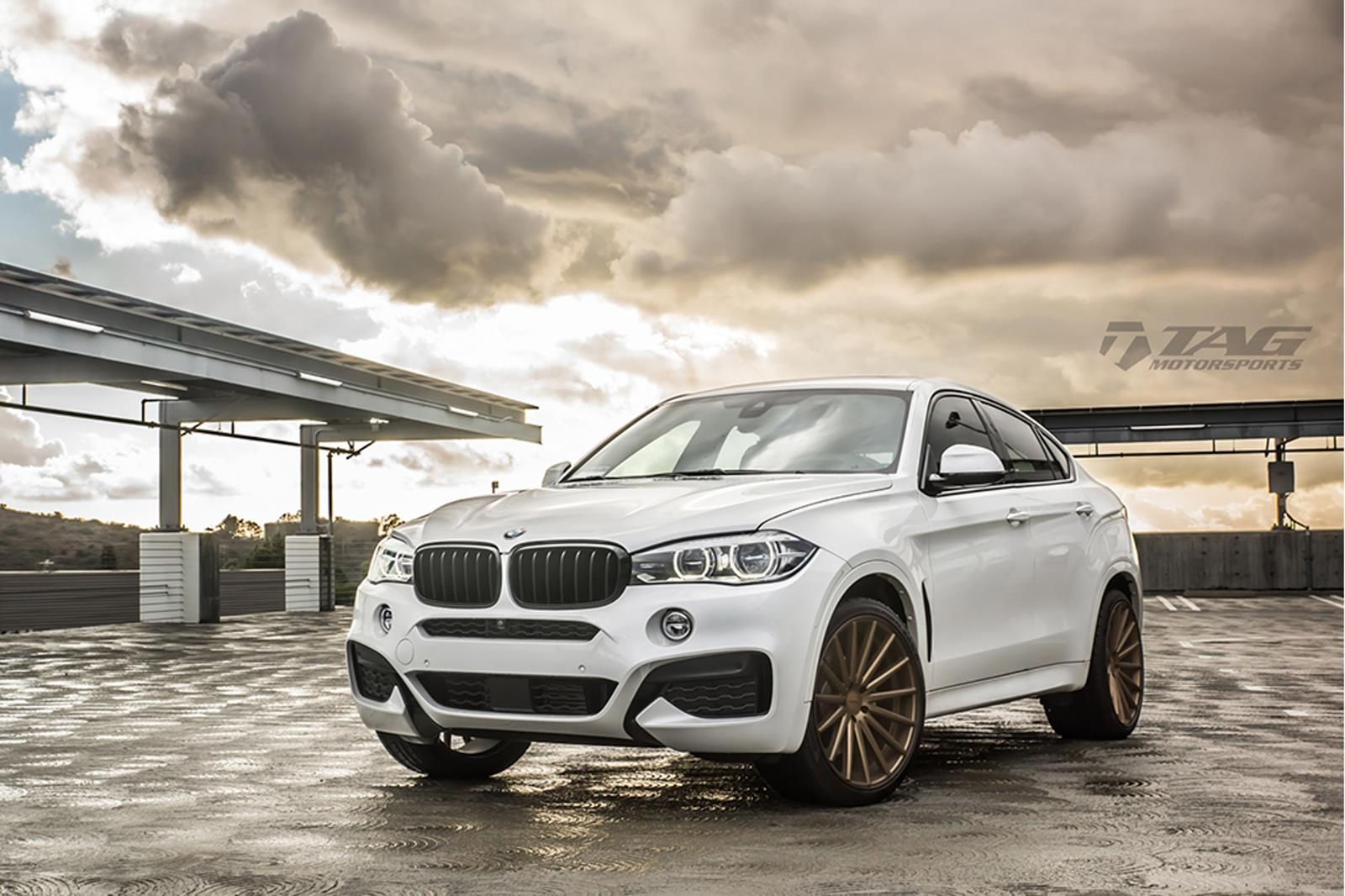 Bmw X6 Vossen Flow Formed Series Vfs 2 Vossen Wheels