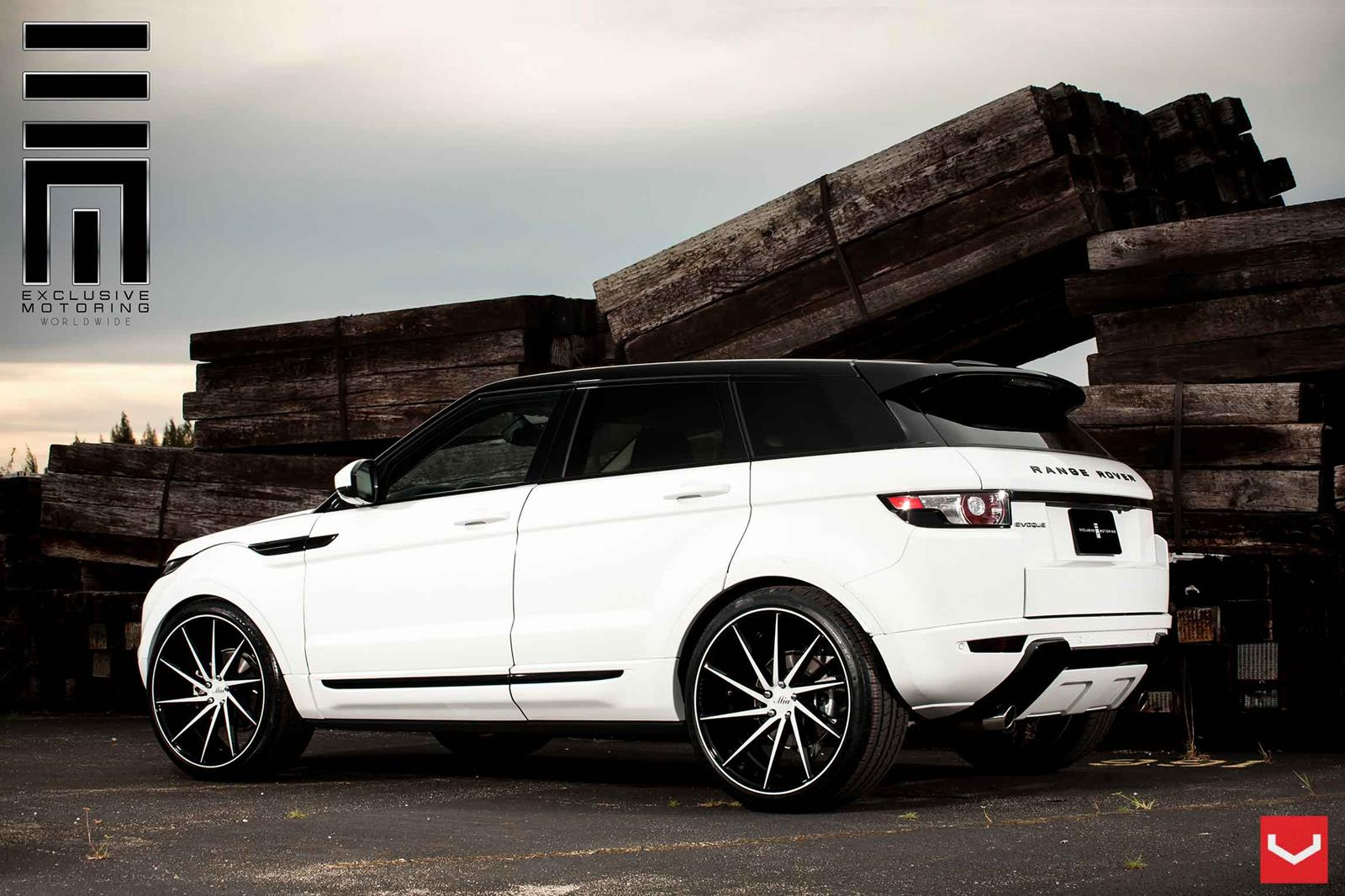 land rover evoque vossen cvt vossen wheels. Black Bedroom Furniture Sets. Home Design Ideas