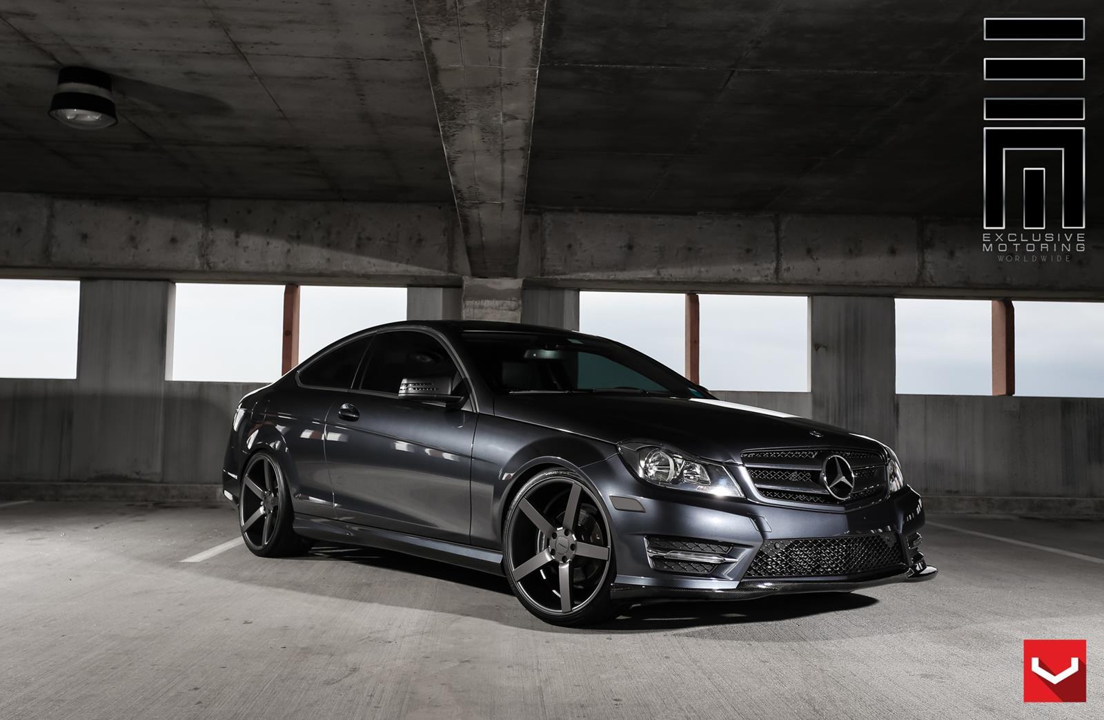 Mercedes benz c class vossen cv3r vossen wheels for Mercedes benz c class rims