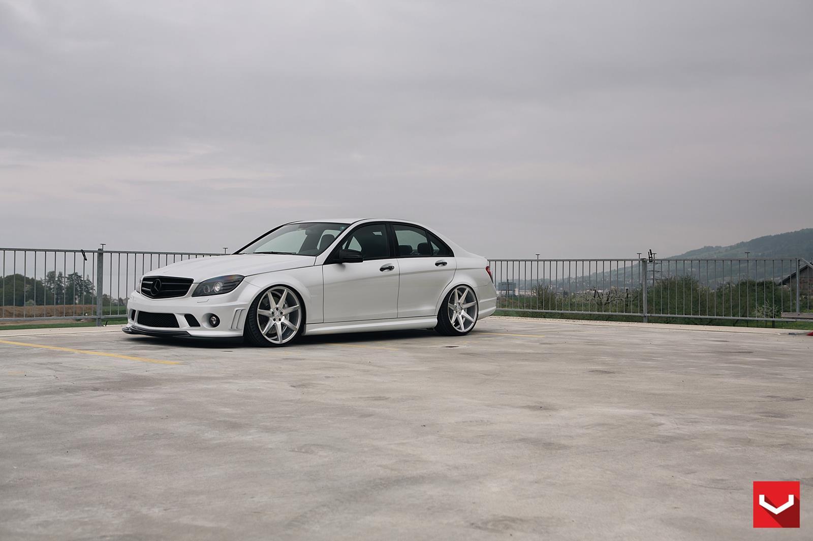 Mercedes benz c class vossen cv7 vossen wheels for Mercedes benz c class rims