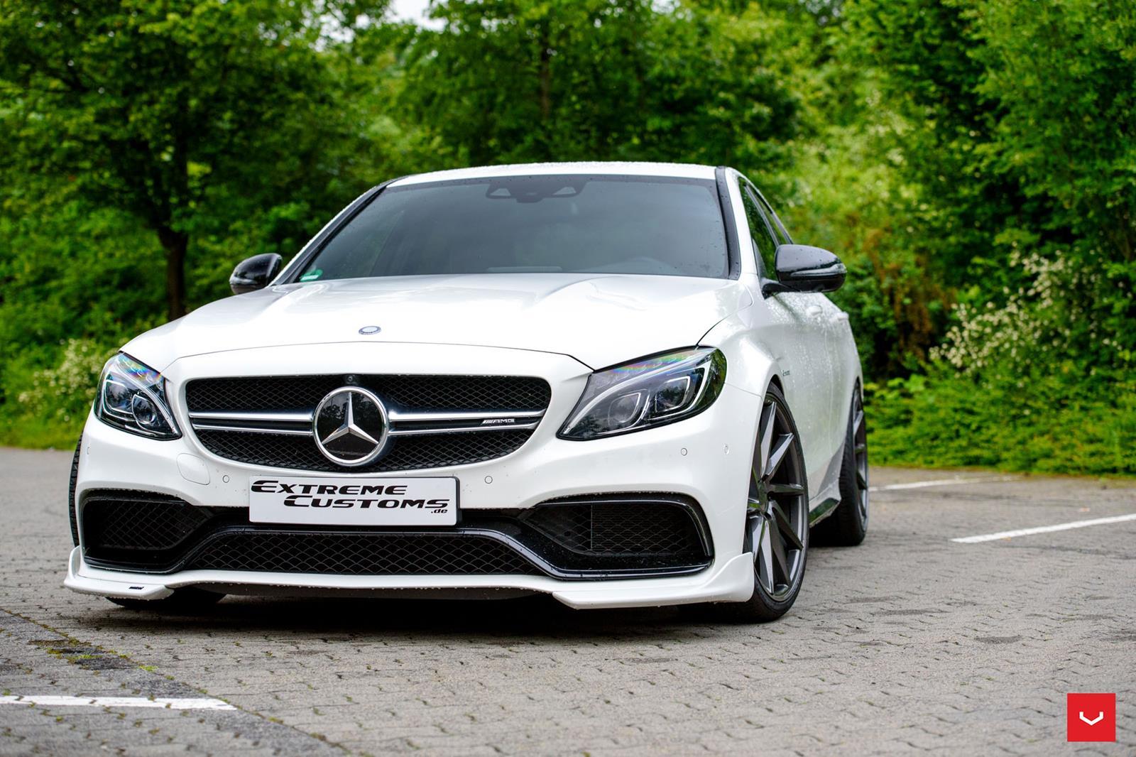 Mercedes benz c class vossen cvt vossen wheels for Voss mercedes benz