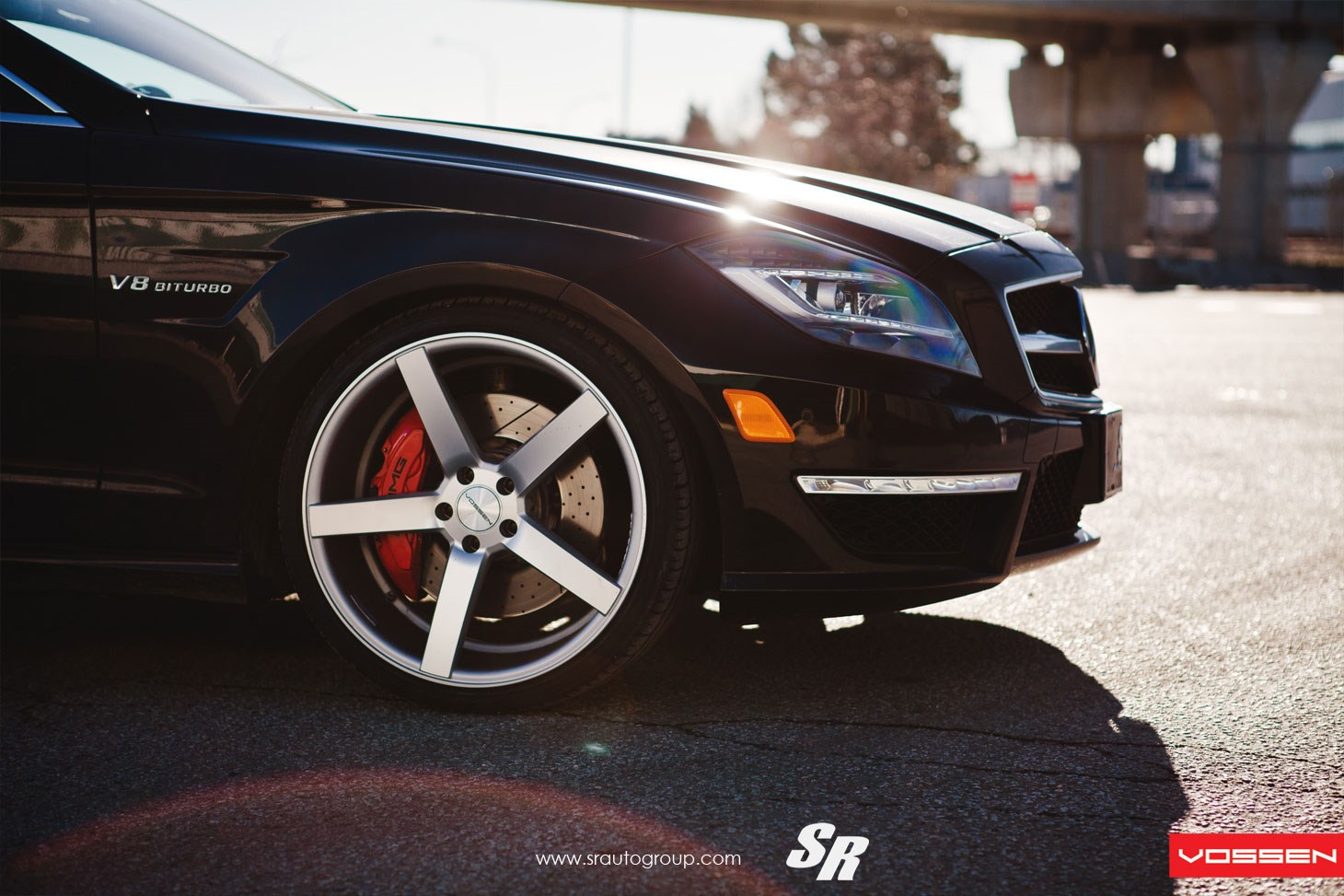 Mercedes Benz Cls Vossen Cv3r Vossen Wheels