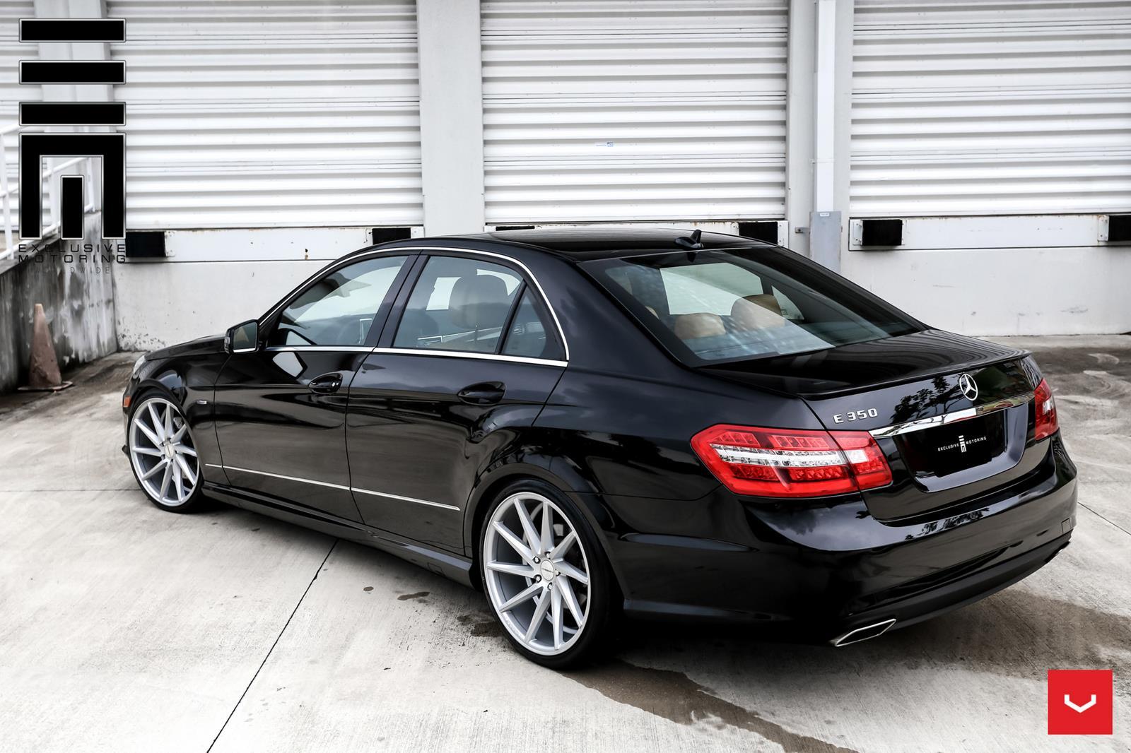Mercedes benz e class vossen cvt vossen wheels for Voss mercedes benz