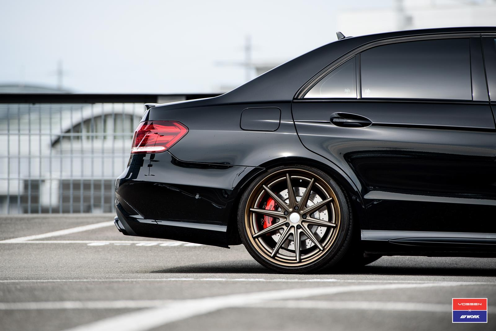 mercedes benz e class vossen x work series vws 1 vossen wheels. Black Bedroom Furniture Sets. Home Design Ideas