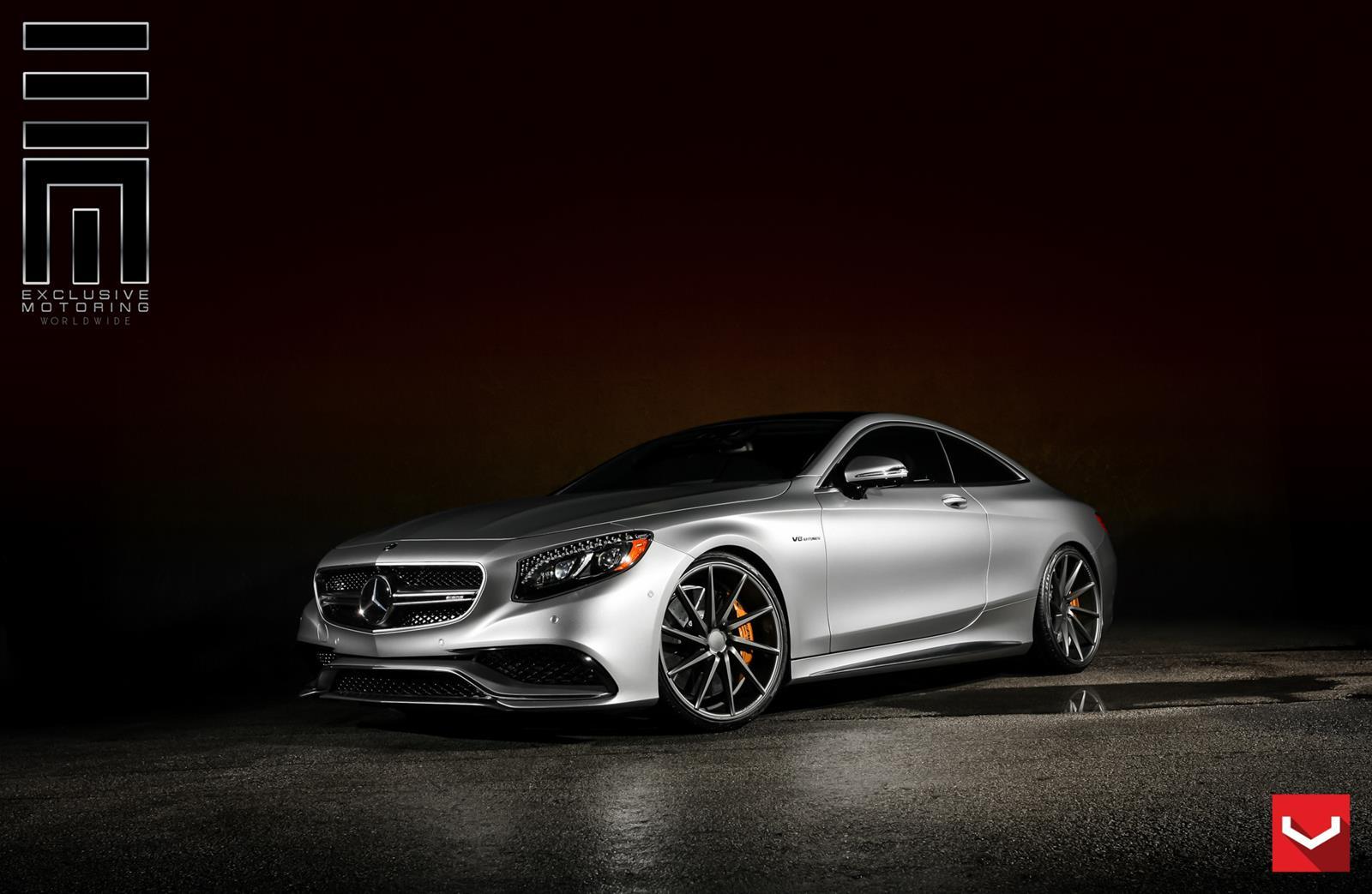 Mercedes benz s class coupe vossen cvt vossen wheels for Voss mercedes benz