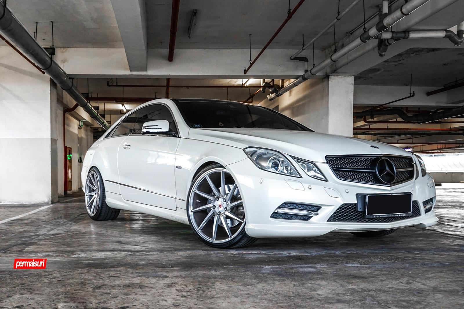Mercedes benz e class vossen forged precision series for Voss mercedes benz