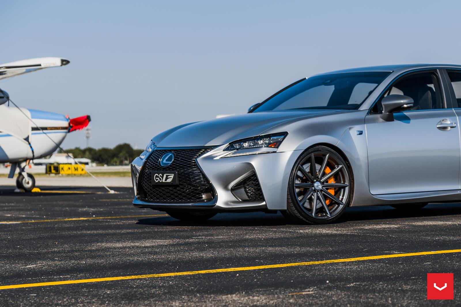lexus gsf vossen flow formed series vfs10 vossen wheels