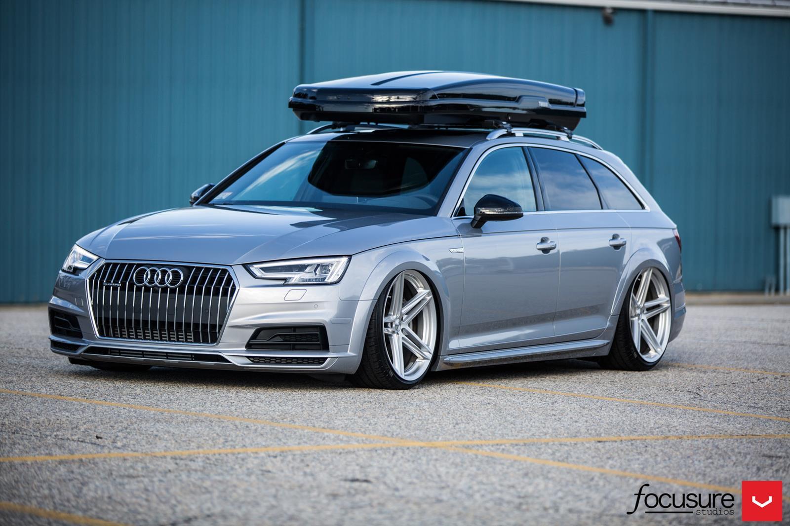 Audi Allroad Vossen Flow Formed Series Vfs5 Vossen Wheels