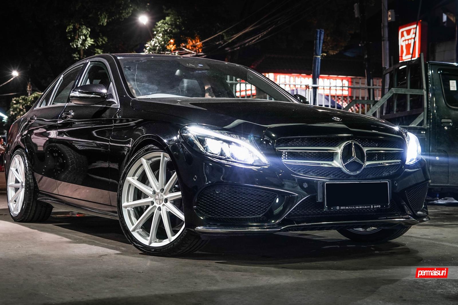 Mercedes benz c class vossen flow formed series vfs 10 for Mercedes benz c class rims