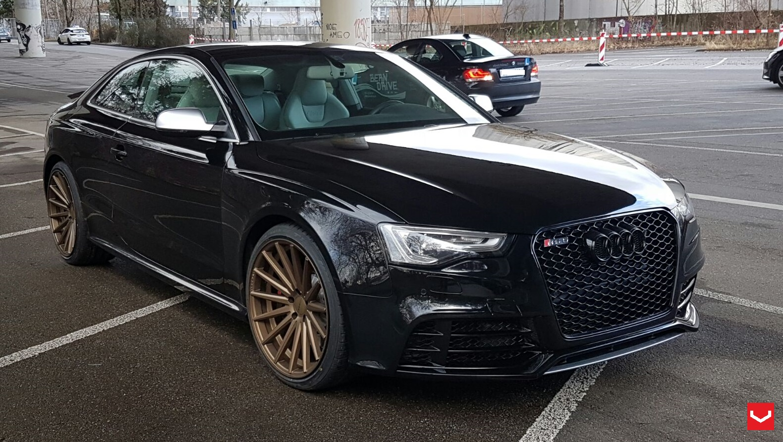 Audi Rs5 Vossen Flow Formed Series Vfs2 Vossen Wheels
