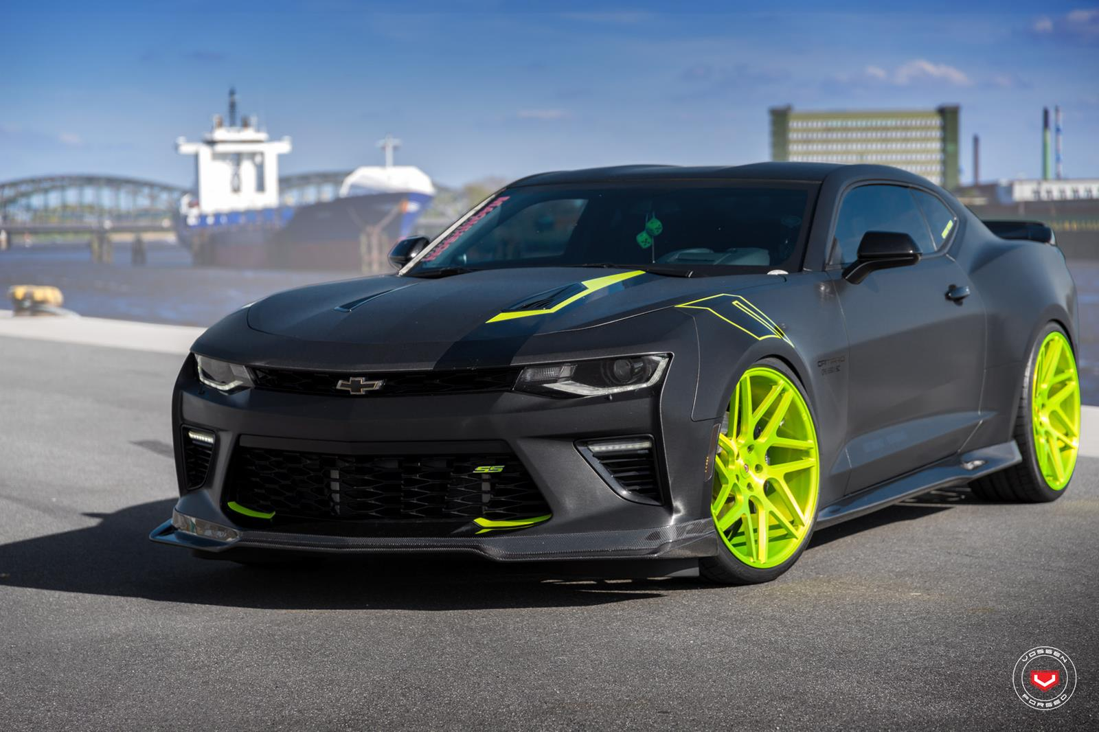 Chevrolet Camaro Ss Vossen Forged Precision Series Vps