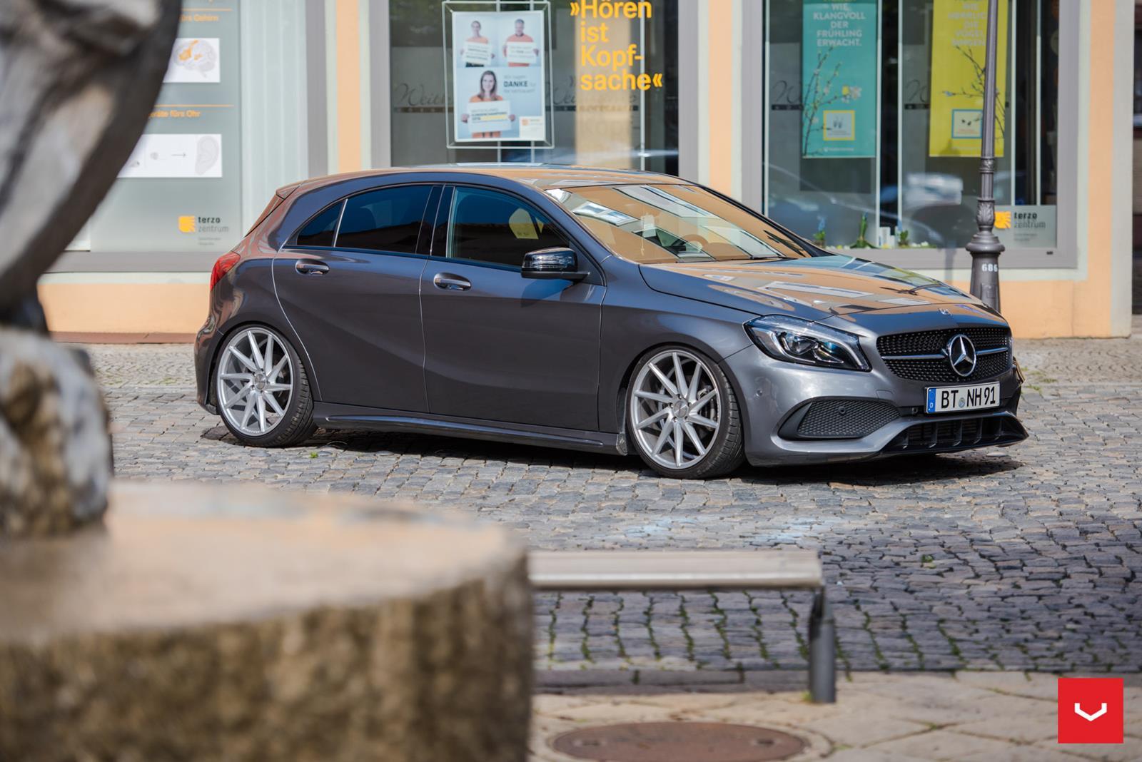 Mercedes benz a class vossen cvt vossen wheels for Voss mercedes benz