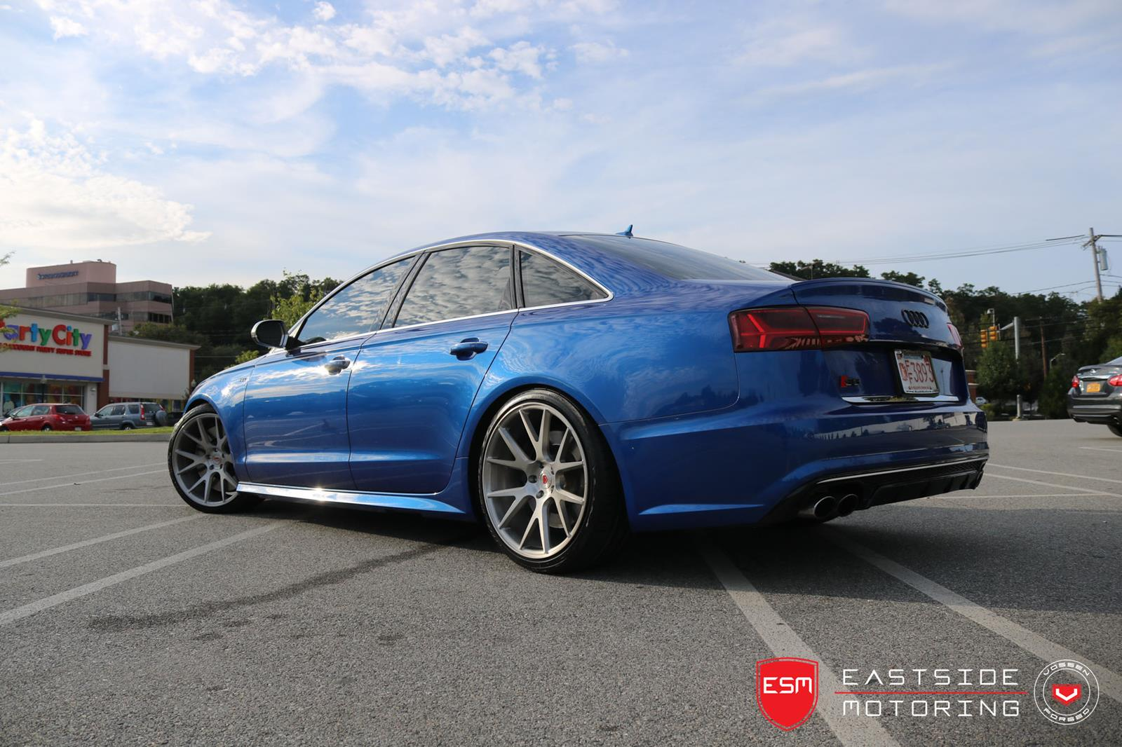 Audi S6 Vossen Forged Precision Series Vps 306