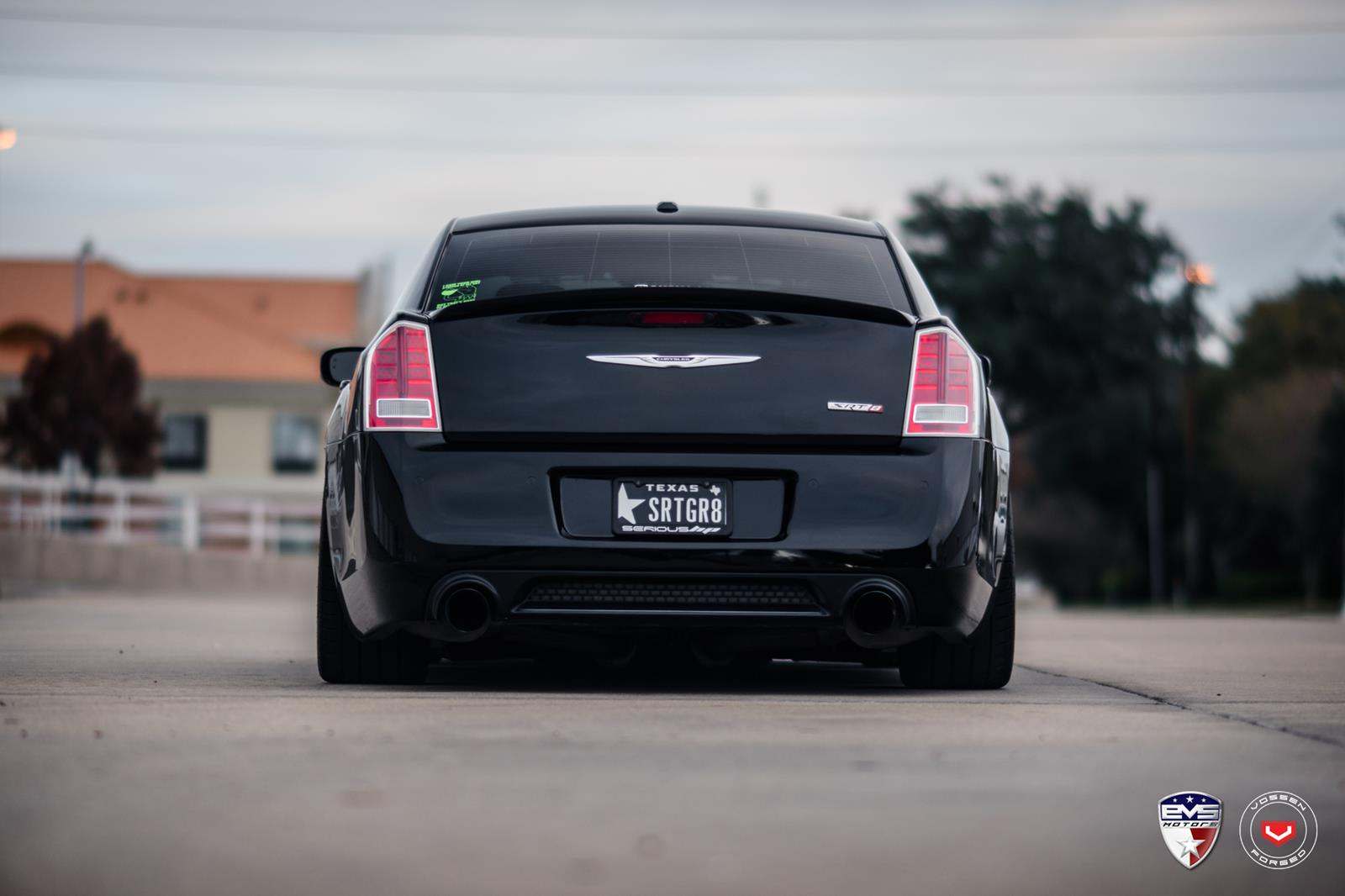 chrysler 300c vossen forged lc series lc 102 vossen. Black Bedroom Furniture Sets. Home Design Ideas