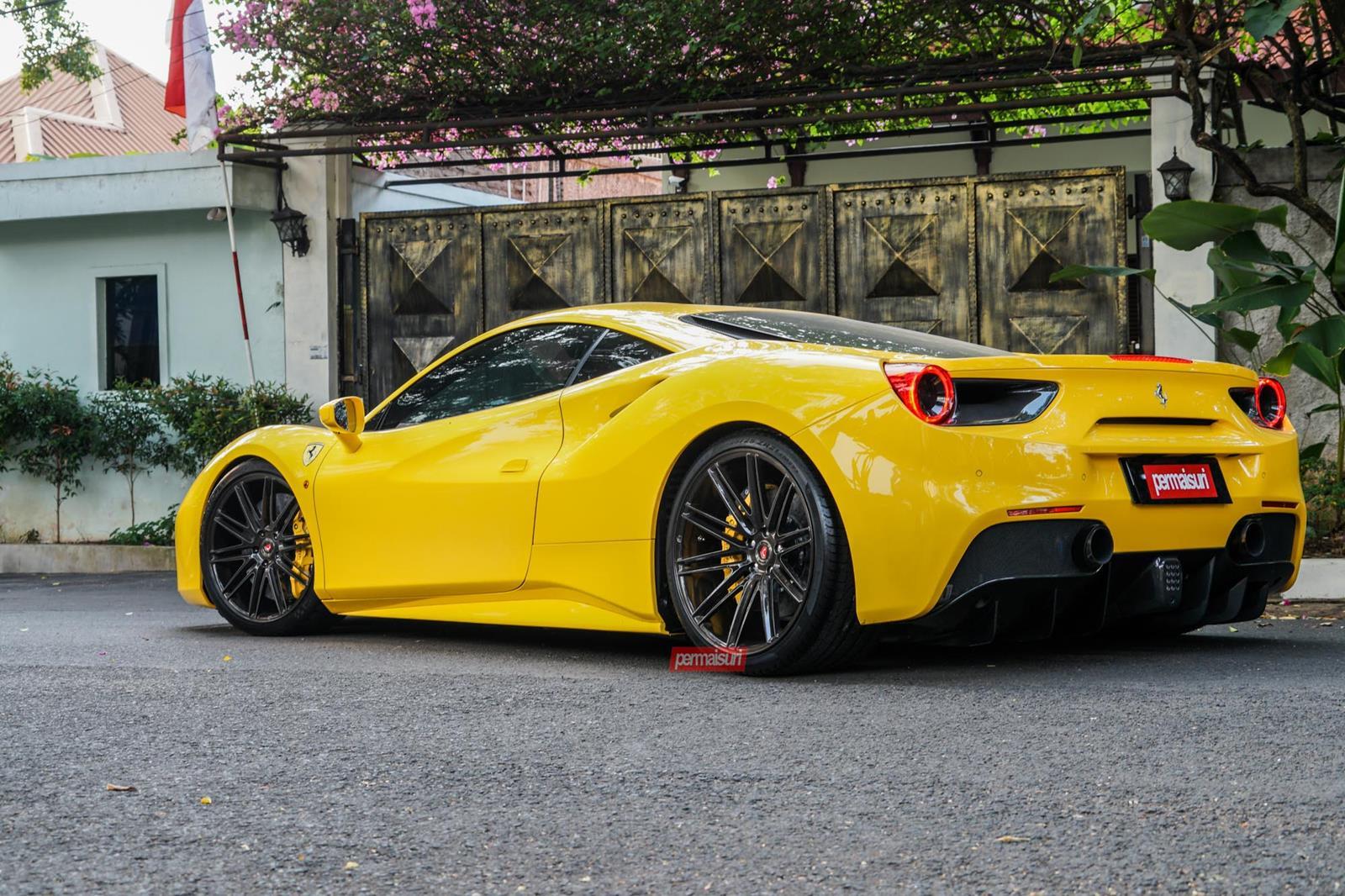Ferrari Yellow Ferrari S California 612 Scaglietti Giallo